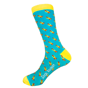 Original Rocket Ship Socks