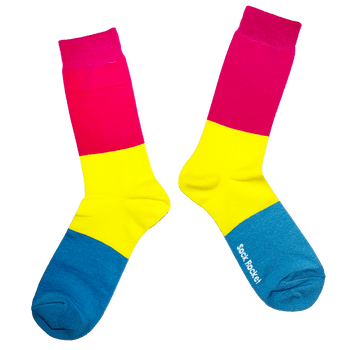 Sock Rocket Pan Pride Socks