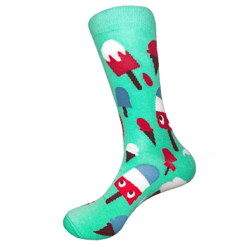 Sock Rocket Popsicles and Ice Cream Socks