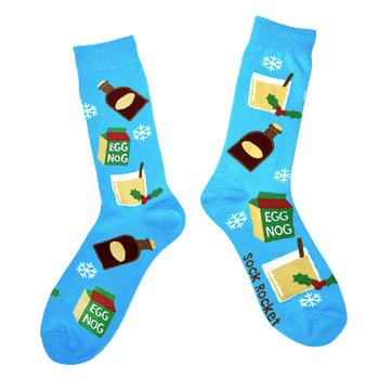 Rum and Egg Nog Socks