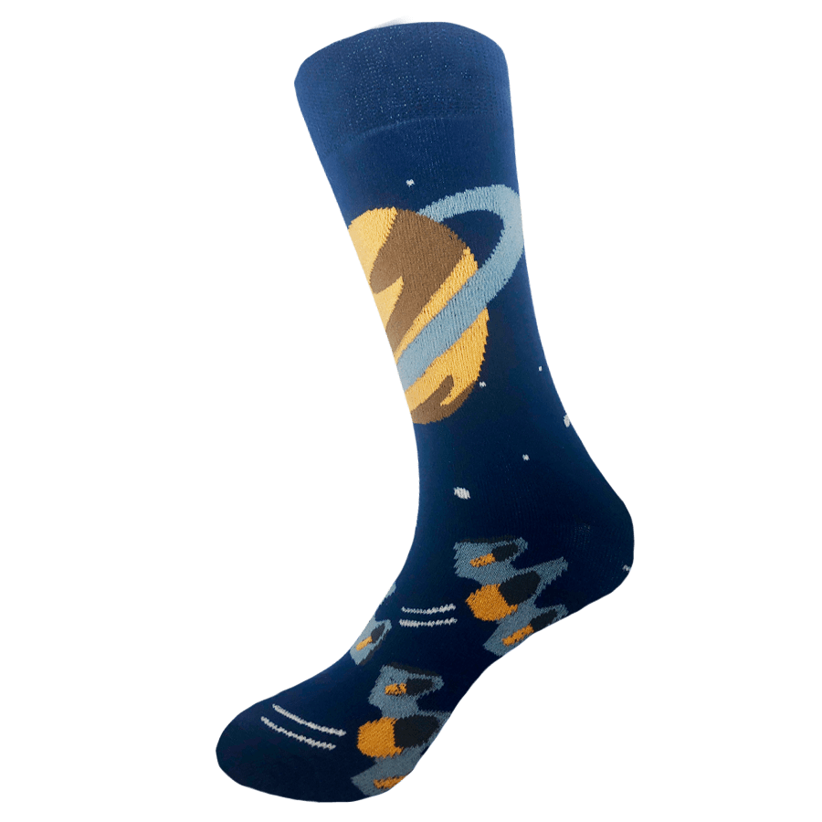 Sock Rocket Space Ship Socks