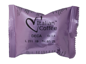 CAFFE' ITALIAN COFFEE DECAFFEINATO COMPATIBILE LUI ( 1 CAPSULA ) - ottima-scelta-coffee-shop