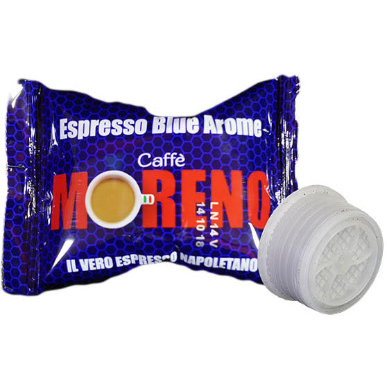CAFFE' MORENO BLU AROME LAVAZZA POINT (100 CAPSULE) - ottima-scelta-coffee-shop