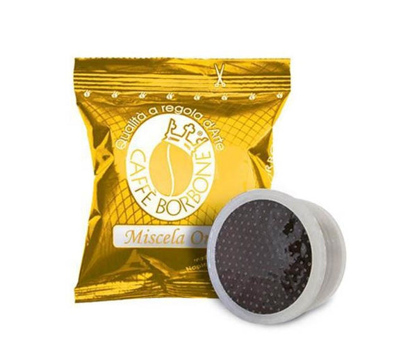 CAFFE' BORBONE ORO COMPATIBILE LAVAZZA POINT (100 capsule) - ottima-scelta-coffee-shop
