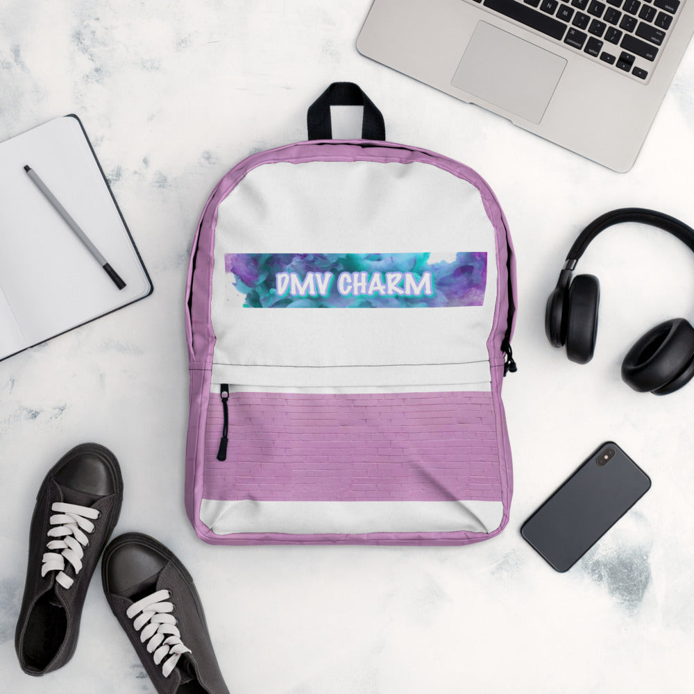 Orchid/Teal DMV CHARM Backpack