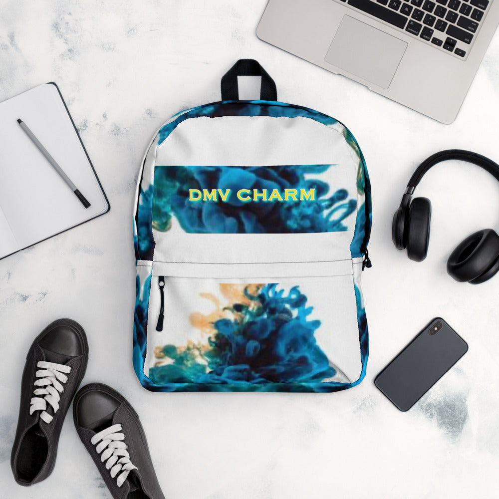 Smoky Blues DMV CHARM Backpack