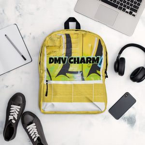 Yellow/Black DMV CHARM Backpack