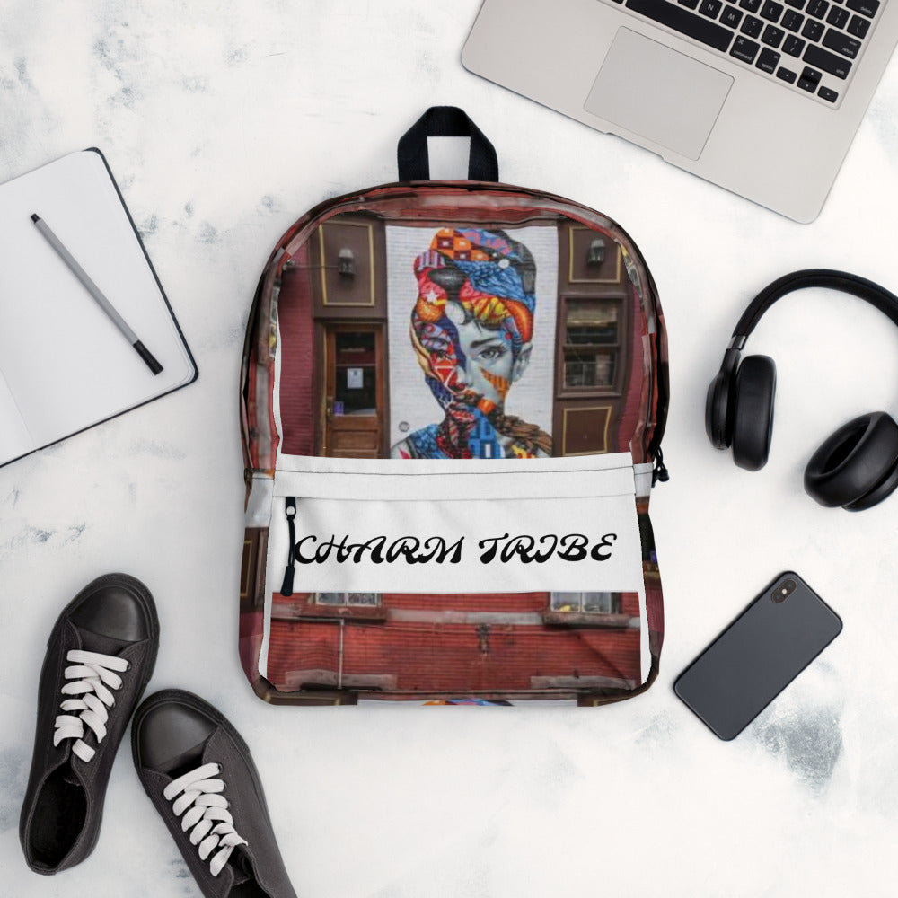 Queen Graffiti CHARM TRIBE Backpack