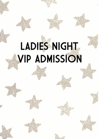 VIP Admission Only