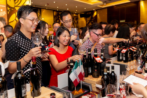 美酒佳餚 wine and dine 品酒活動 wine tasting event 香港意大利酒 italian wine in hong kong