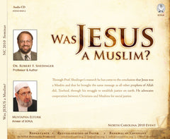 Was Jesus A Muslim? Seminar on CD