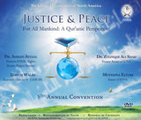 IONA 5th Annual Convention Justice & Peace For All Mankind: A Qur'anic Perspective 2 DVD set