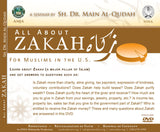 All About Zakah for Muslims in the U.S. Dr. Main Al-Qudah 2 DVD set