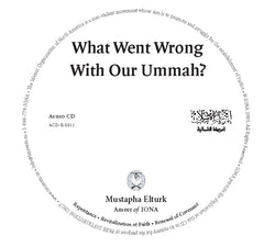CD Lecture What Went Wrong With Our Ummah? by Ameer Mustapha Elturk