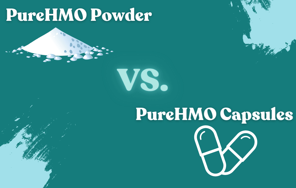PureHMO® Powder vs. PureHMO® Capsules - What's the Difference??