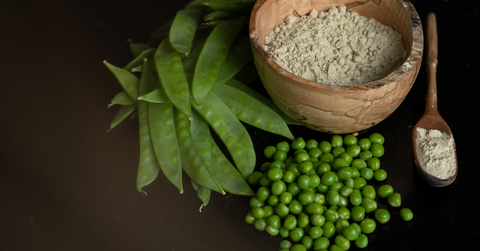 peas and pea protein