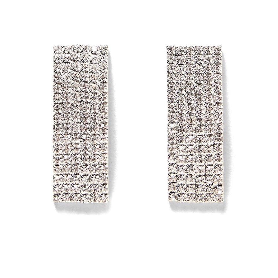 Sassy Crystal statement earrings