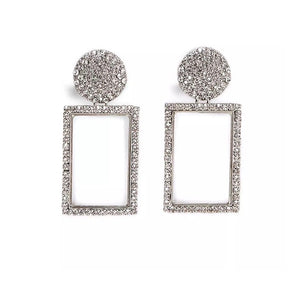 Sarah Crystal statement earrings