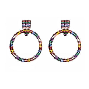 Summer Crystal statement earrings