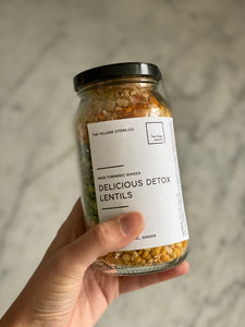 PREORDER - Delicious Detox Lentils #002 Turmeric Ginger