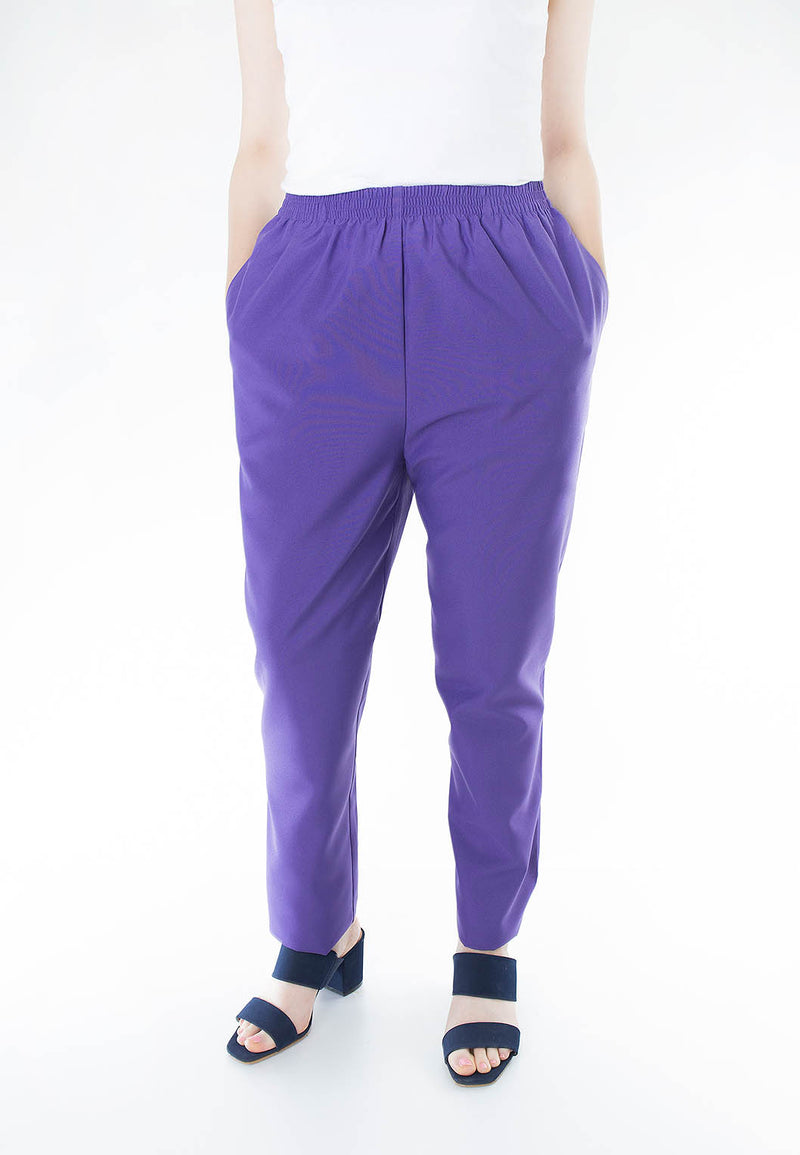 Poly Poplin Pull On Pant