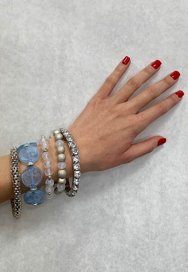 Five Piece Stretch Bracelets