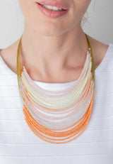 Multi Wire Illusion Necklace