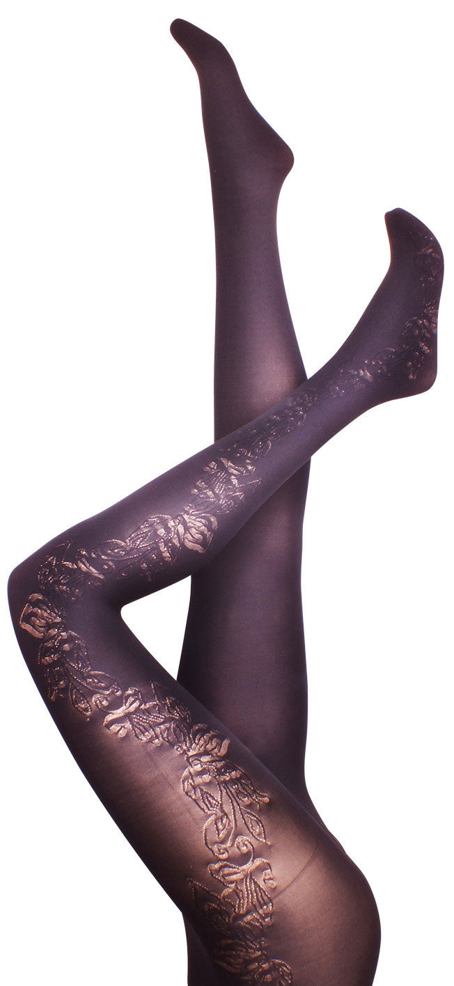 English Ivy Black Tights