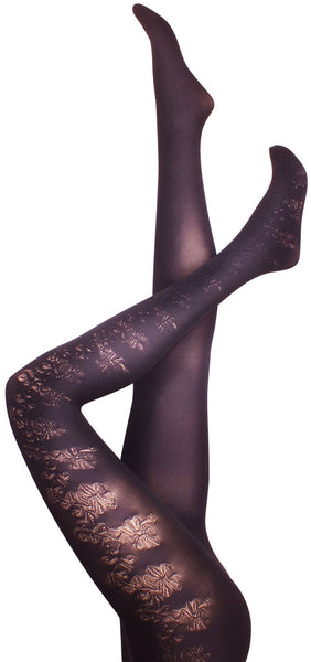 Dahlia Black Tights