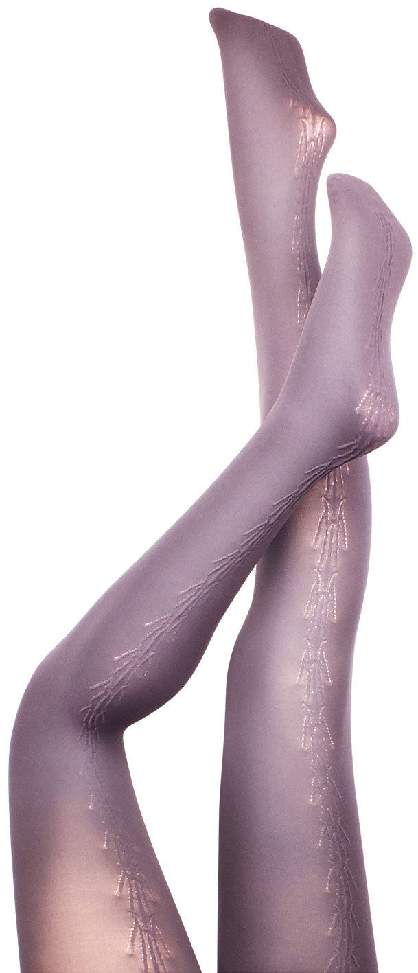Glassworth Grey Tights