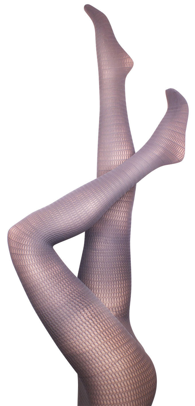 Honeycomb Grey Tights