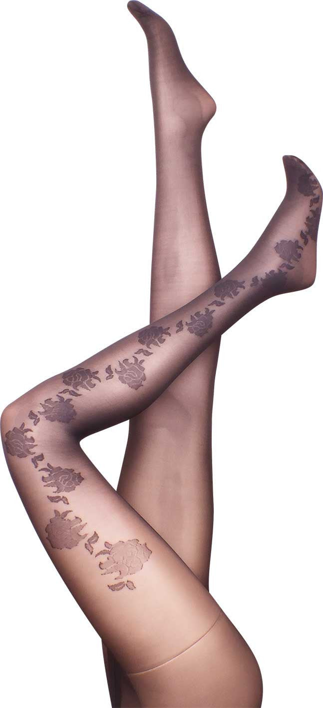 Gardenia Black Tights