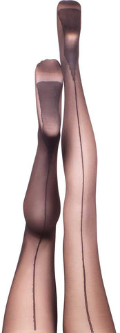 Heather Black Summer Tights