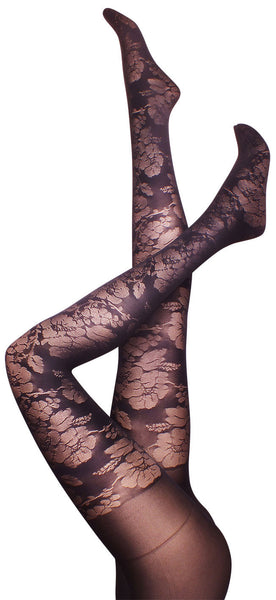 Petunia Black Tights