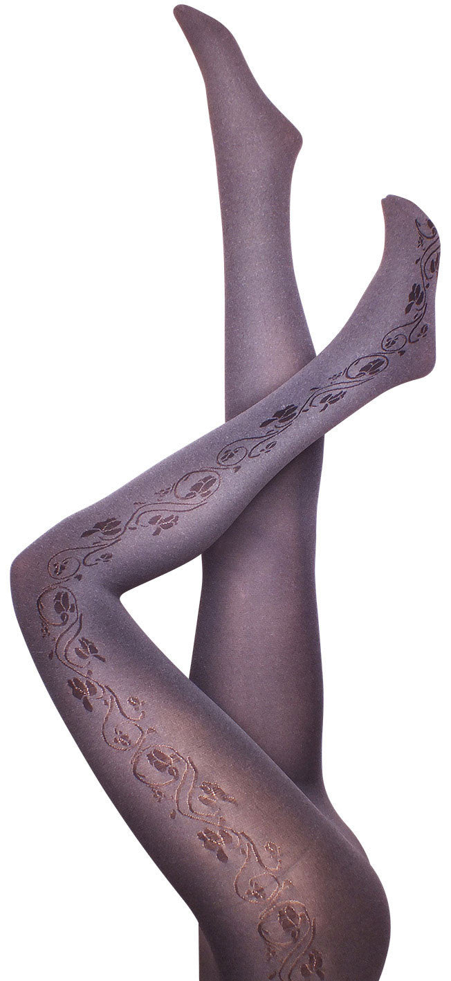 Mandavilla Grey Tights