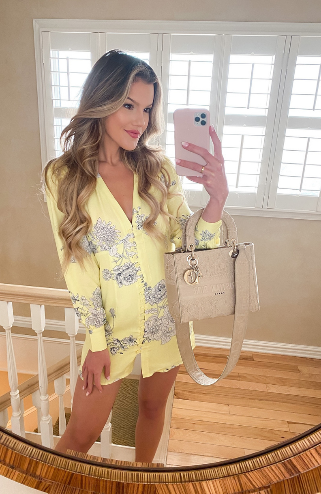 When Life Gives You Lemons Mini Dress