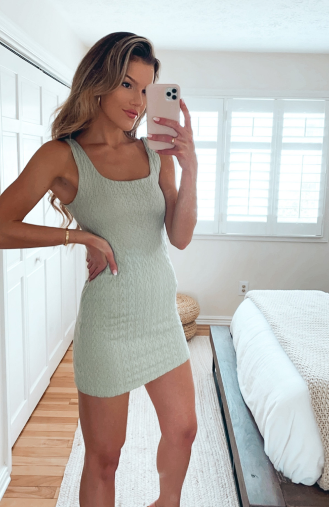 Mint Julep Mini Dress