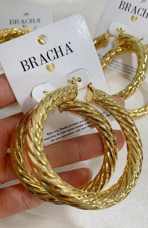 Milan XL Hoops by BRACHA