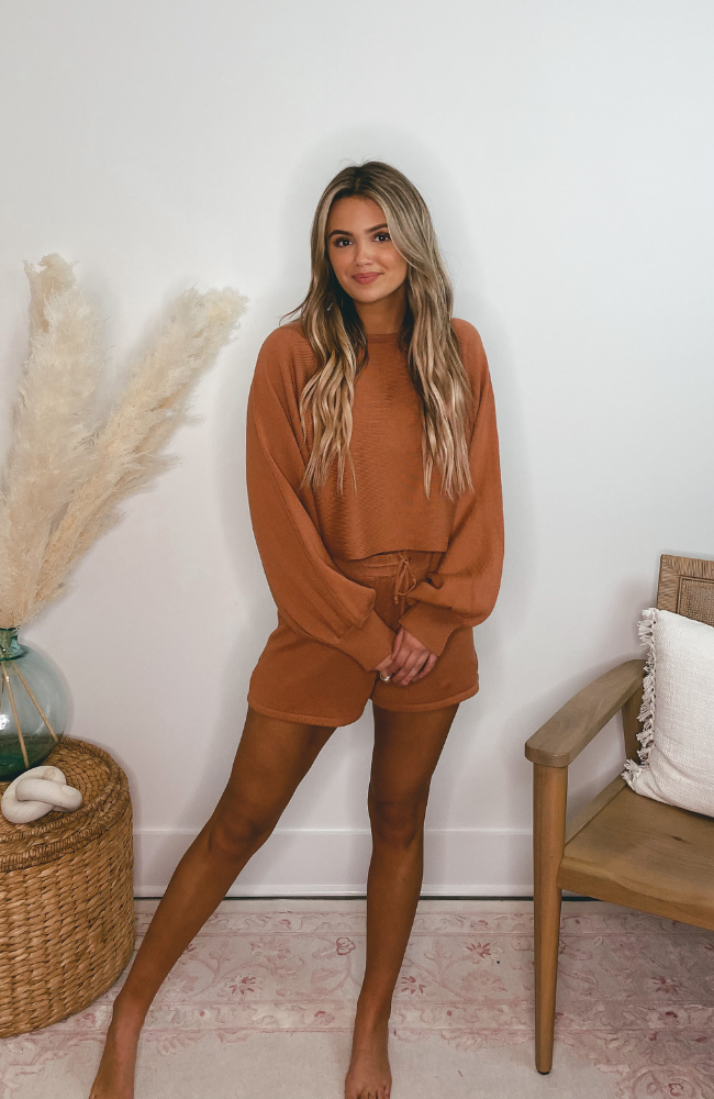 J'adore Rust Sweater