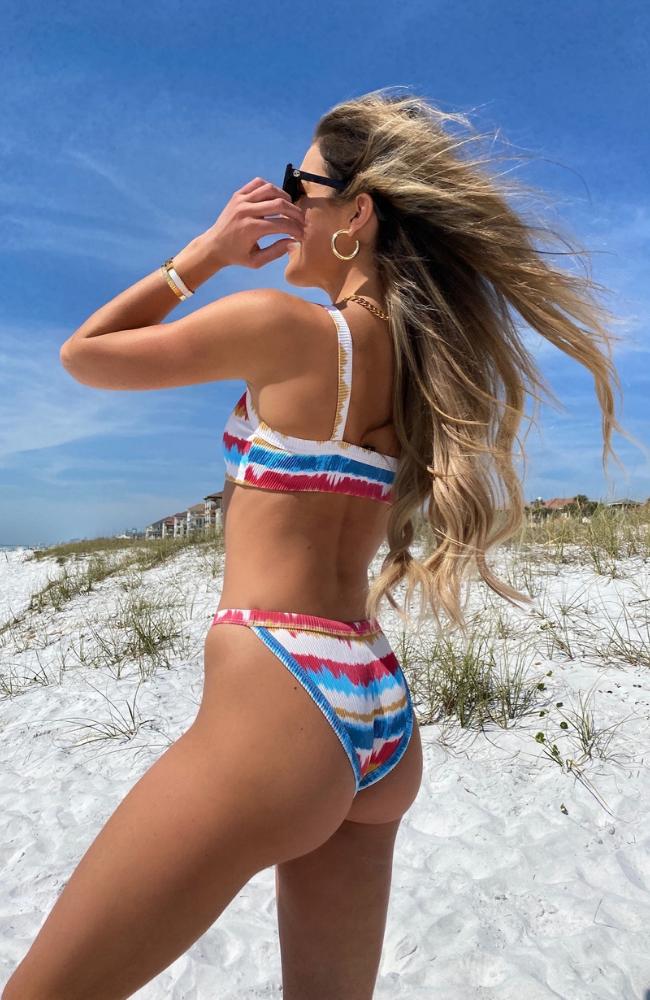 BEACH RIOT Becca Bottom Primary Dip Dye