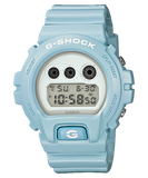 Casio G-Shock Standard Digital Pale Color Light Blue Watch DW6900SG-2DR - Diligence1International