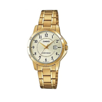 Casio LTP-V004G-9BUDF Gold Stainless Watch for Women - Diligence1International