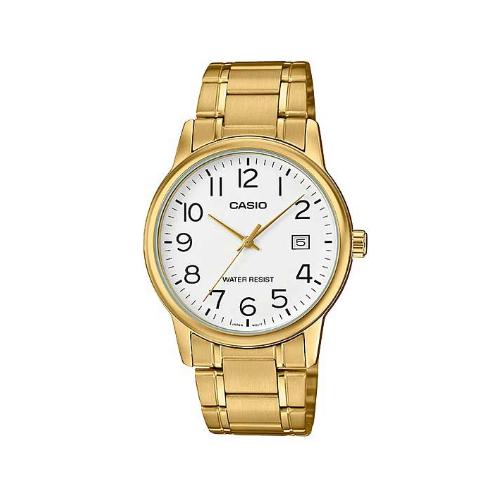 Casio MTP-V002G-7B2UDF Gold Stainless Watch for Men - Diligence1International