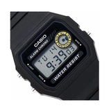 Casio F-94WA-8DG Black Resin Watch for Men and Women - Diligence1International