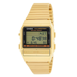 Casio Men's DB380G-1DF Gold Tone Stainles-Steel Quartz Watch with Digital - Diligence1International
