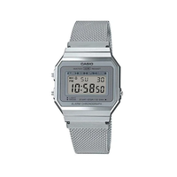 Casio Classic A700WM-7ADF Silver Stainless Steel Mesh Band Watch - Diligence1International