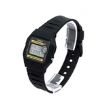 Casio F-94WA-9DG Black Resin Watch for Men and Women - Diligence1International