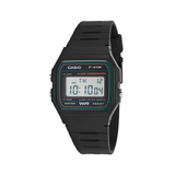 Casio F-91W-3DG Black Resin Strap Watch for Men and Women - Diligence1International