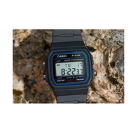 Casio F-91W-1YER Black Resin Strap Watch for Men and Women - Diligence1International