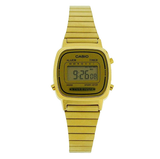 Casio Classic LA-670WGA Gold Stainless Steel Watch for Women - Diligence1International